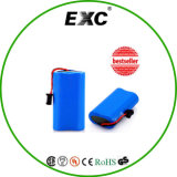 Gutes Price Li-Ion 2s2p 18650 Battery Pack 7.4 4000mAh