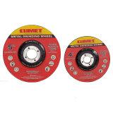 Rodas deprimidas da interrupção do centro para o abrasivo do metal (115X3.0X22.2mm) com certificados do MPa