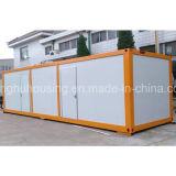 Diseño moderno del bajo costo del campo de la casa móvil china del envase prefabricado