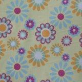 Le polyester estampé 210d Ripstop PVC/PU fleurit le tissu estampé par polyester