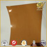 Strato rigido scuro del PVC del Brown per il cappello di Sun