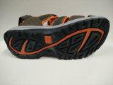 Chaussures en caoutchouc de santals de plage d'Outsole des hommes