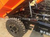 電気鉱山の貨物三輪車か広く利用された小型ダンプの三輪車