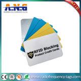 Carteira do protetor RFID da segurança que obstrui o cartão
