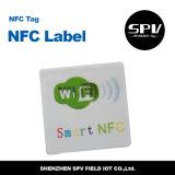 Animal doméstico adhesivo ISO14443A ultraligero de la etiqueta 13.56MHz de Nfc