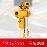 velocidad dual eléctrica de anzuelo del alzamiento de cadena de la suspensión 1.5ton