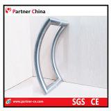 Manija moderna del tirón del acero inoxidable 304 para la puerta de cristal (01-180)