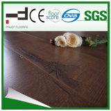 plancher facile de stratifié de système de blocage de technologie allemande de fini du bois de rose E.I.R de 12mm
