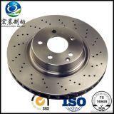 Qualité exhalée ISO9001 de disque de frein