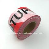 PET Warning Tape Red&White für Safety