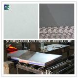 El yeso del techo / de la teja con revestimiento de PVC