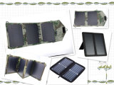 faltbare Solaraufladeeinheit 7W für Handy