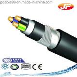 8.7/10kv cable de transmisión de cobre del conductor XLPE