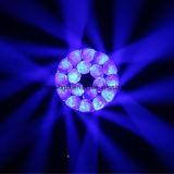 Luz móvil del zoom LED de la colada In1 del ojo 4 de la abeja de la luz de la etapa del ojo LED de la pista B de la alta calidad 19PCS 15W RGBW