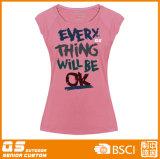 여자의 형식 조끼 t-셔츠