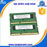 Польностью совместимая память 4G DDR3 компьтер-книжки 256mbx8