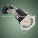 IP20 Recessed Ceiling GU10 Fixed LED Downlight für Großbritannien BS476 Fire Rated Ceiling