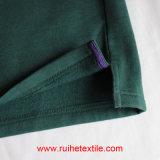 Вскользь тенниска пота ватки Knit длинней почищенная щеткой втулкой для взрослых