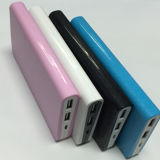 8000mAh Portable Dual USB Mobile Phone Power Bank Charger (PB-J27)