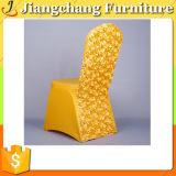 オーストラリア人は好んだ熱い販売のロゼットのサテンの椅子カバー(JC-YT602)を