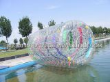 Amusement Floating Inflatable Aqua Roller pour Water Use, Human Hamster Roller Inflatable Ball