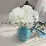 Цветок букета Hydrangea 12 цветов искусственний для украшения (SW14402)