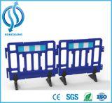 Barreira plástica de segurança rodoviária para segurança rodoviária