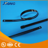 Steel inoxidável Plastic Coated Cable Tie com CE