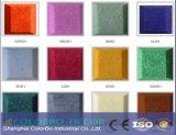 Los paneles coherentes compactos de la fibra de poliester del panel acústico de la estructura