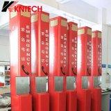 Téléphone de lignes terrestres de Koontech avec le téléphone Emergency extérieur Knem-21&#160 de GM/M SIM ;