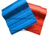 충격 방지 루핑 장 3개의 층 UPVC 또는 콜롬비아 합성물 PVC 기와 지붕 지붕널