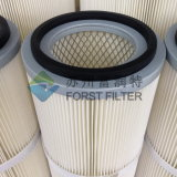 Élément filtrant industriel de filtre à air de Forst