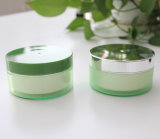 15g 30g 50g Plastic Kosmetische Verpakking als Kruik van de Room met Strook Alumite GLB (ppc-asj-005)