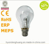 Ampola energy-saving do halogênio de A55 230V 42W E27/B22