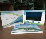 4 cartolina d'auguri personalizzata dello schermo di stampa di colore TFT video