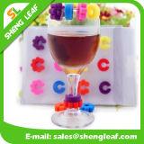 おかしい流行のゴム製シリコーンのワイングラスメーカー(SLF-WG006)