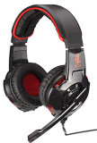 USB Overear Supper Bass Gaming Headset mit LED