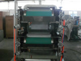 Máquina ao tecido gravado do guardanapo do dobrador