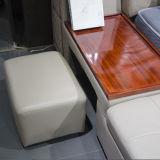 Mobília gêmea padrão do quarto do couro genuíno do tamanho