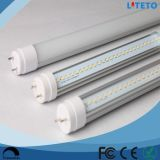 Aleación de aluminio e iluminación residencial y comercial del alto brillo 120lm/W de los tubos SMD2835 18W los 4FT de la alta calidad LED T8 de la UL del Ce de la cubierta de la PC del LED