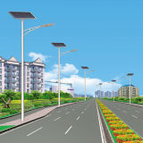10m sondern Straßenlaterneder Arm-Sonnenenergie-LED aus (JS-A201510130)