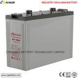 De diepe Batterij van het Project van de Batterij 2V 600ah van de Cyclus Zonne