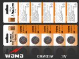 Oxid-Silber-/3V-Lithium-Tasten-Zelle der Qualitäts-1.5V Alkaline/1.55V