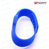 Tag sazonal do Wristband da cópia de cor cheia RFID para locais de encontro da natação