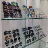 Caixa acrílica nova do suporte do carrinho de indicador da loja de varejo dos vidros dos óculos de sol 10-Pair