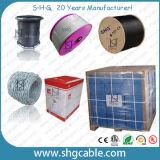 Qualité 75 ohms de câble coaxial de liaison Dg125 de TV satellite
