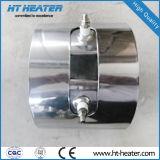 Mica calentador de banda eléctrica con enchufe