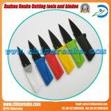 Нож резца выживания ножа кредитной карточки высокого качества портативный миниый