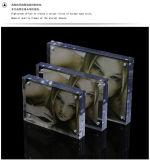 """Cornice acrilica del blocco, nuove pagine acriliche libere 5 della foto """" 6 """" 7 """" 8 """" blocchi per grafici della visualizzazione della maschera con Magents"""
