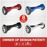 LED 빛을%s 가진 특허가 주어진 8inch 2 바퀴 균형 스쿠터 각자 균형을 잡는 망설임 널 전기 외바퀴 자전거 지능적인 평형 바퀴